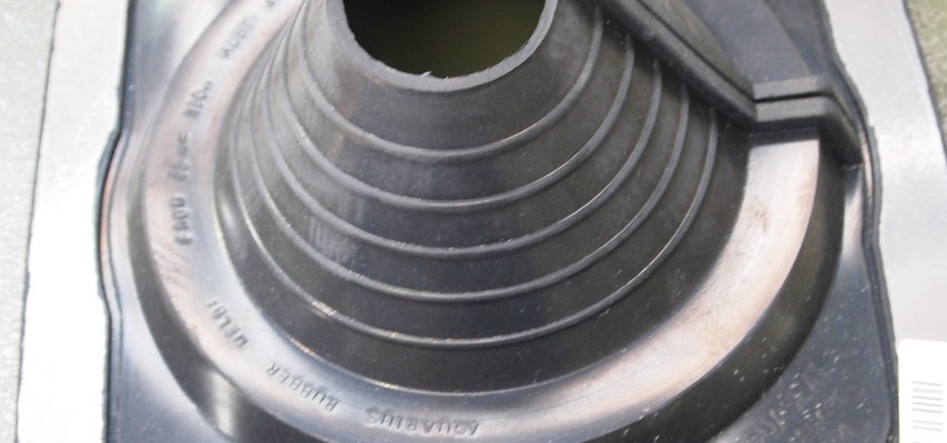 Cold Pipe Flashing (Pipe Boot)